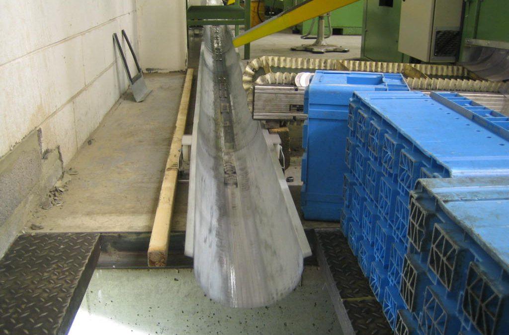 14mtr Scrap Conveyor